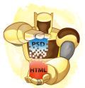 PSD to HTML & WordPress from XHTMLized. Your design, our magic.
