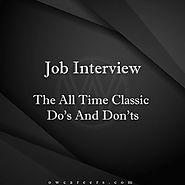 The all-time classic Do's and Don's