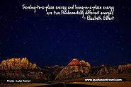 Best Inspirational Travel Quote by Elizabeth Gilbert - QuotesOnTravel.com