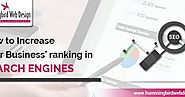How to Increase Your Business' ranking in Search Engines