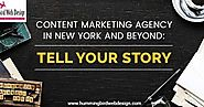Content Marketing Agency in New York and beyond: Tell Your Story