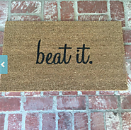 Beat It Doormat