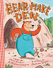 Children's Book Review, Bear Make Den.