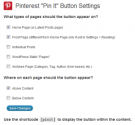Pinterest Plugin for WordPress | Pin It Button