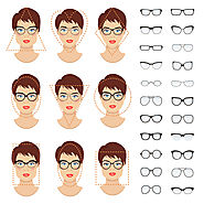 Choosing the right eyeglasses for your face shape