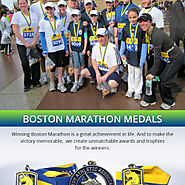 Learn About Boston Marathon Medals