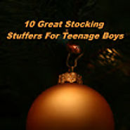 Finding the right stocking stuffers for teenage boys
