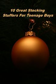 For parents that have teenage boys, being able to find the right stocking stuffers can be tricky as teenagers are kno...