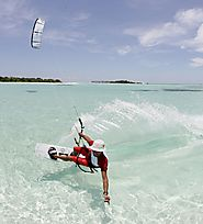 Kite Surfing in Maldives