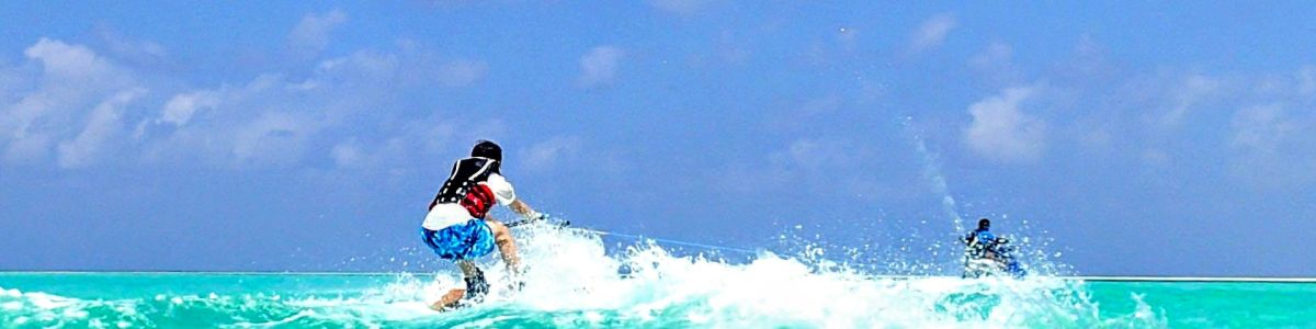 Headline for 05 Exciting Water Sports in Maldives – Thrills on the Indian Ocean