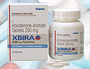 Cipla #Xbira Tablets Price | Generic #Abiraterone 250 mg Supply | Prostate Cancer Medicines