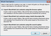 SPListX for SharePoint - SharePoint List Export Tool