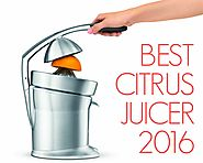 Best Citrus Juicer Review 2016 - Breville 800CPXL