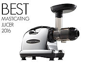Best Masticating Juicer Review 2016 - Omega J8006