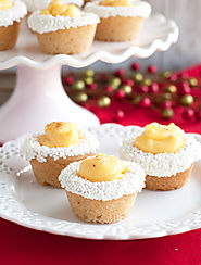Eggnog Cookie Cups - Food Lovin Family