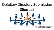 Top 350 High PR Dofollow Directory Submission Sites List 2016 | Tech Tip Trick