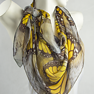 Have A Look On Animal Printed Silk Scarf