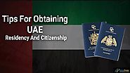 How to Get UAE Residency and Citizenship - Dubaiposter