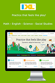 """IXL"" Practice That Feels Like Play !"