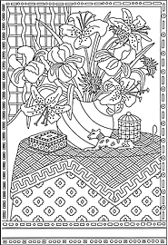 ColorGrande™ Color-in Art