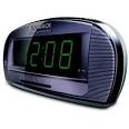 alarm clock display