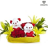 What about Flowers with teddy for your Little kids or Broken Hearts