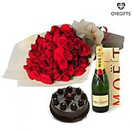 Make a Basket of Love with Luxury Hamper Gifts