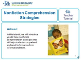 Nonfiction Comprehension Strategies - Tutorial Video