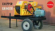 Chipper Grinder For Recycling The Waste -EcoStan