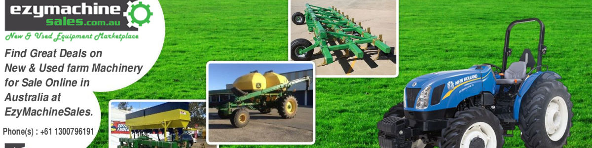 Headline for Used & New Farm Machinery for Sale