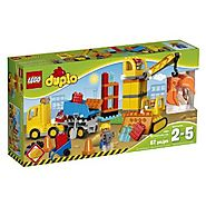 LEGO DUPLO Town Big Construction Site Building Kit (67 Piece)