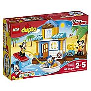LEGO DUPLO Disney Mickey & Friends Beach House Building Kit (48 Piece)