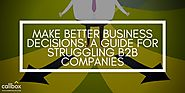 Make Better Business Decisions: A Guide for Struggling B2B Companies
