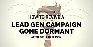 How to Revive a Lead Gen Campaign Gone Dormant After the Lean Season