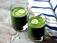 Spinach Kale & Apple Juice