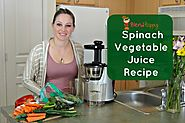 Spinach Vegetable Juice Recipe