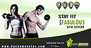 Get Health & Fitness Deals at very Affordable Rates