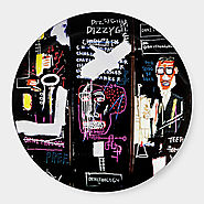 Jean-Michel Basquiat: Horn Players Plate