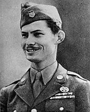 Desmond Doss during his time in the Army.