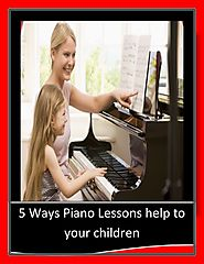 5 ways piano lessons help to your children