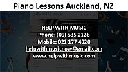 Piano Lessons Auckland NZ - Call 021 177 4020