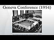 Primary: The Final Declarations of the Geneva Conference July 21, 1954