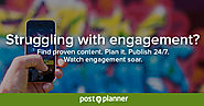 Social Media Engagement App | Post Planner