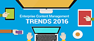 2016's Top 5 Enterprise Content Management Market Trends - Best Content Management Software and Vendors