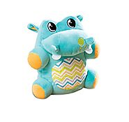 Kiddopotamus Jiggypotamus Interactive Plush Toy