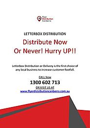 Letterbox Distribution in Canberra
