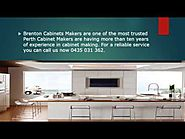 Brenton Cabinets - Perth Cabinet Makers