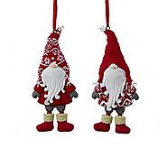 Scandinavian Nordic Style Gnome Christmas Ornament