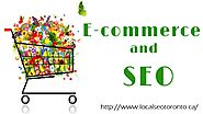 eCcommerce SEO Services in Toronto Canada