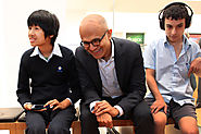 The day Microsoft's CEO met ordinary kids doing extraordinary things from Sydney Secondary College